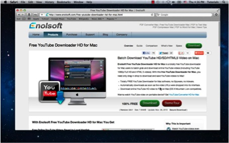 download or create Youtube conversion of clip