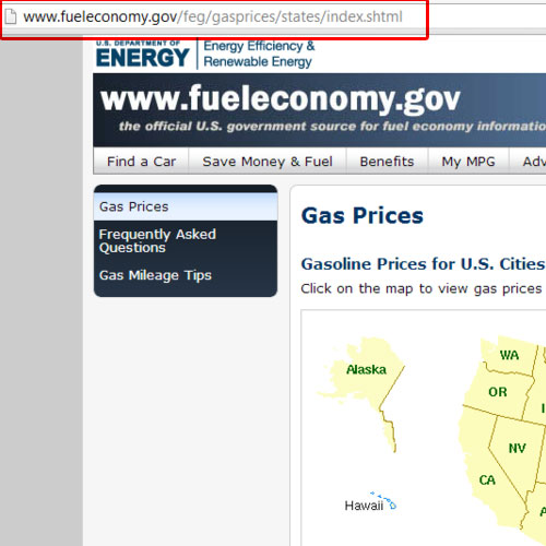 Go to fueleconomy.gov