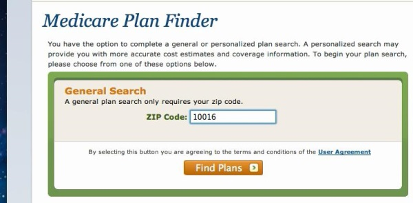 search by Zipcode explained
