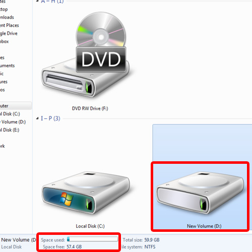 Choose a hard disk drive