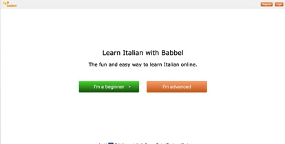 select the beginner course