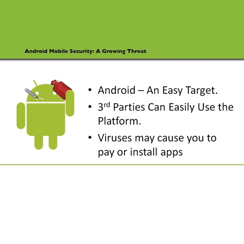 Why android is being targeted the most