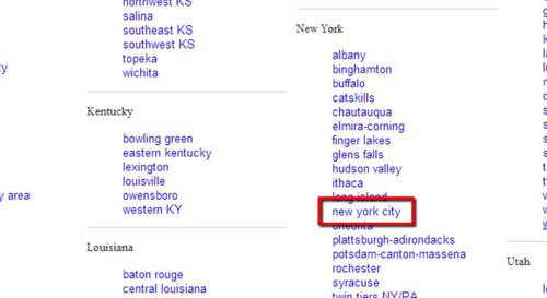 How to Use Craigslist Search Across New York City | HowTech