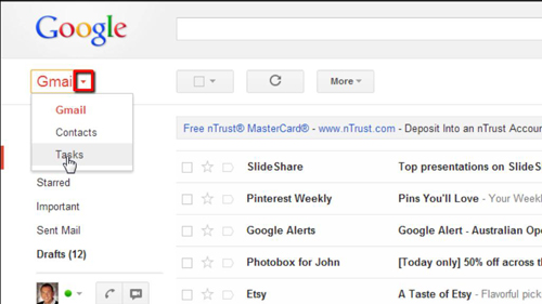 Finding Tasks from Gmail