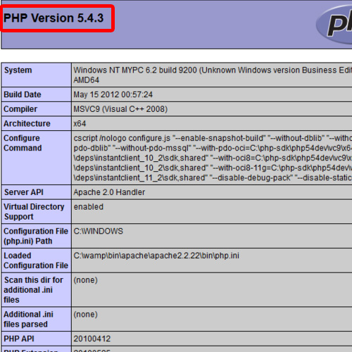 PHP details