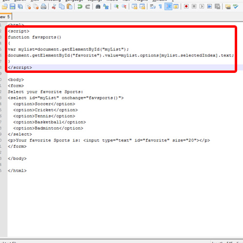 Coding for java Script functions