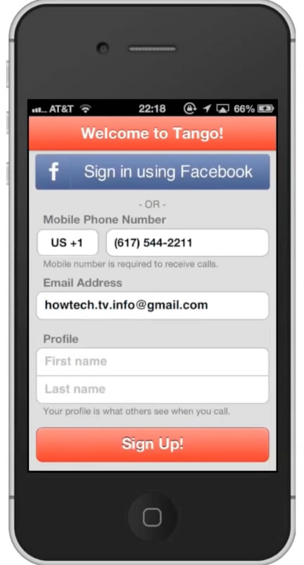 tango app for iphone how to and install app for iphone howtech 2810