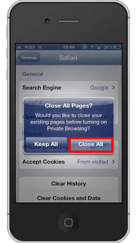 How to Use Private Browsing on the iPhone | HowTech