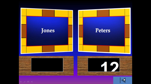 how to make powerpoint games family feud | howtech, Powerpoint templates
