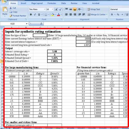 Open an excel sheet which contains formatting
