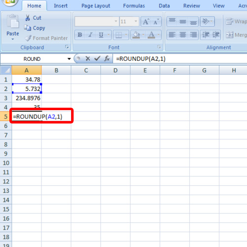how to add decimal places in excel