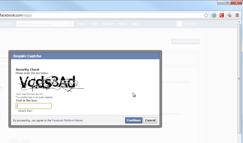 how to add a facebook app