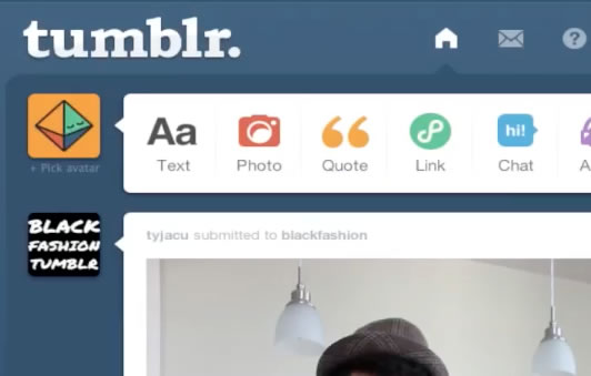 Pull up Tumblr Profile