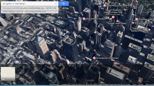 3D buildings are a new feature on Google Maps