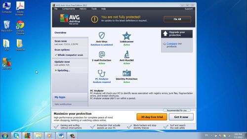 AVG offers excellent protection for home users at no cost