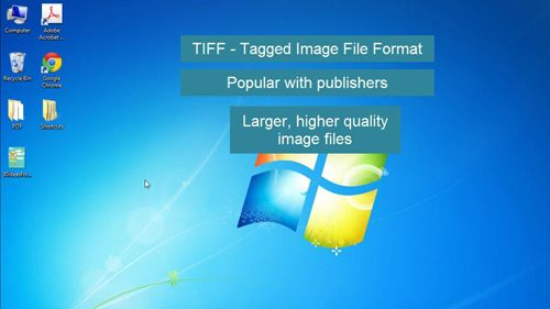 What TIFF files are used for