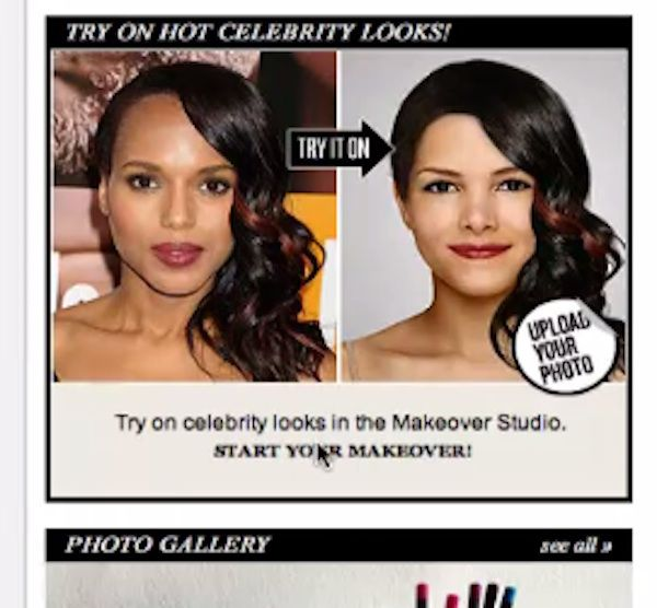 "click ""Start your makeover"""