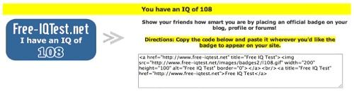 Evaluate your IQ results