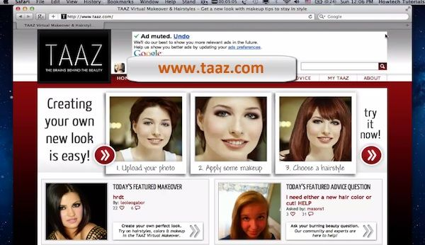 Peachy How To Try A New Hairstyle Online Howtech Short Hairstyles Gunalazisus