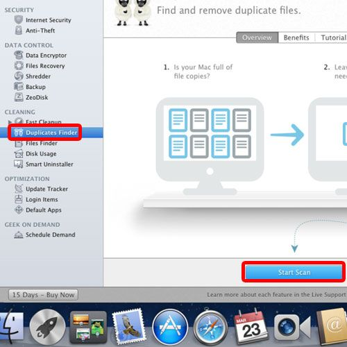 Download the mackeeper application