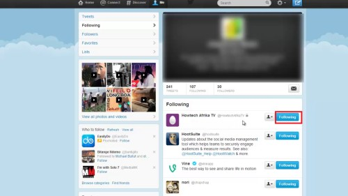 Log in to your new twitter Gmail account