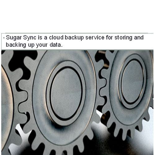 Features in Sugarsync