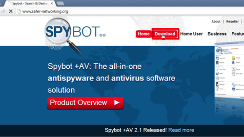 The Spybot site