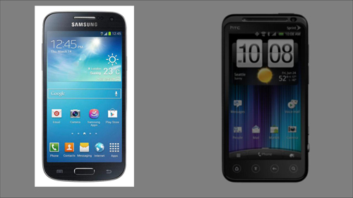 The Galaxy S4 is a great looking phone