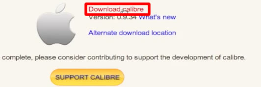 Download the Calibre Application