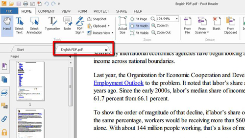 A PDF open in the reader