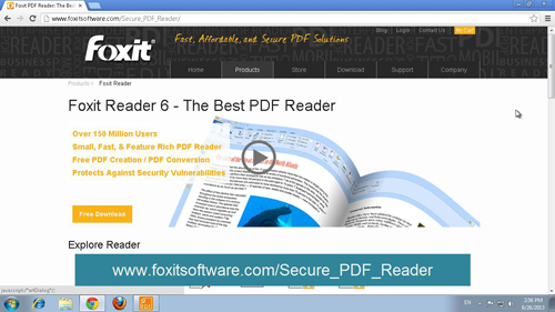 Where you can download the reader
