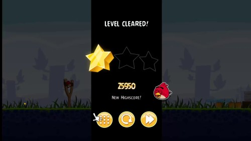 Angry bird is a simple and exciting game