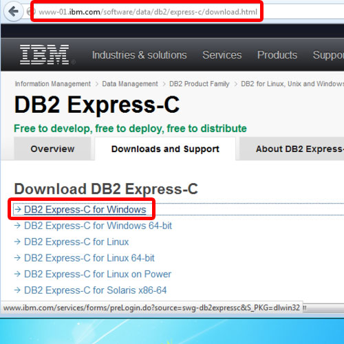 Download db2 for windows