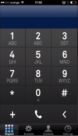 functions of Call Log Pro shown on iPhone running on iOS 7