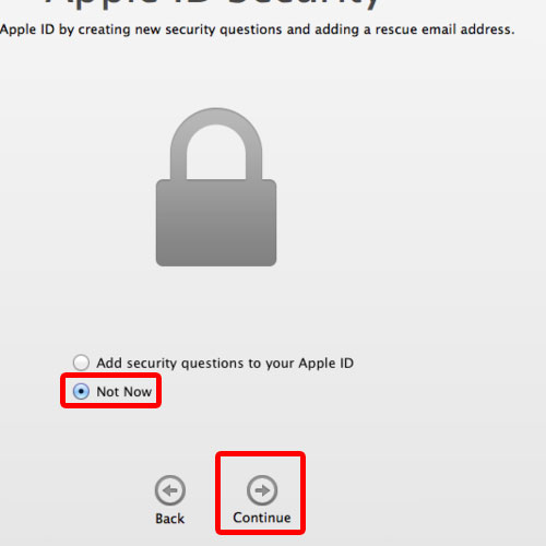 Secure your apple id