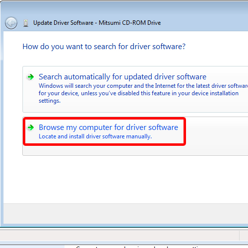 search or download driver