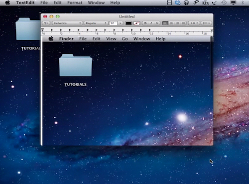 pasting the screenshot to the clipboard on a Mac