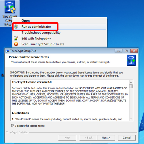 installing truecrypt on your system