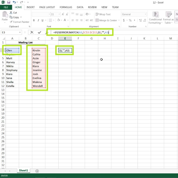 Change these values according to the setup of your Excel spreadsheet