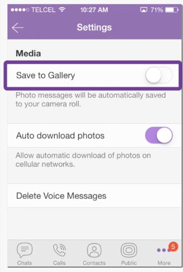 How To Save Viber Photos On IPhone