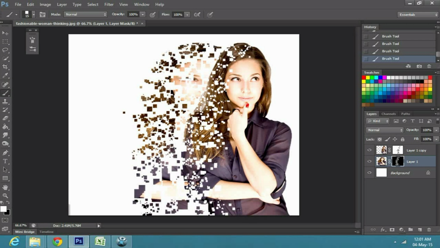 a Dispersion Effect