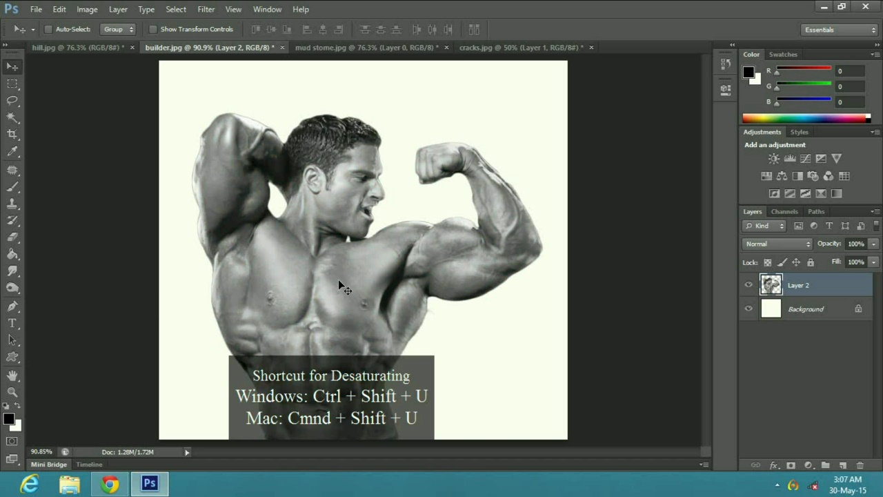 a Stone Statue Effect in Adobe Photoshop