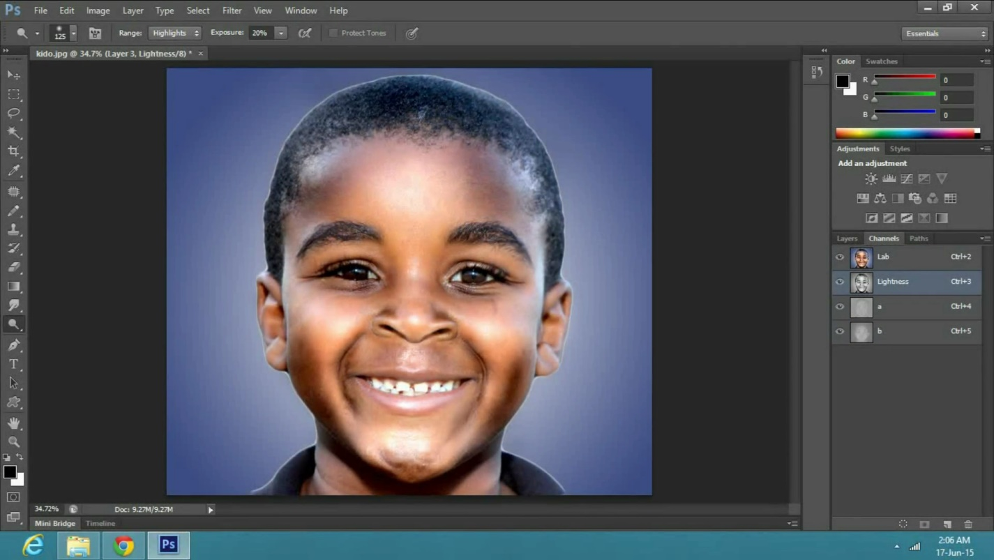an End Times Effect in Adobe Photoshop