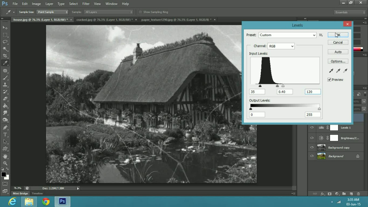 an Old Photo Effect in Adobe Photoshop