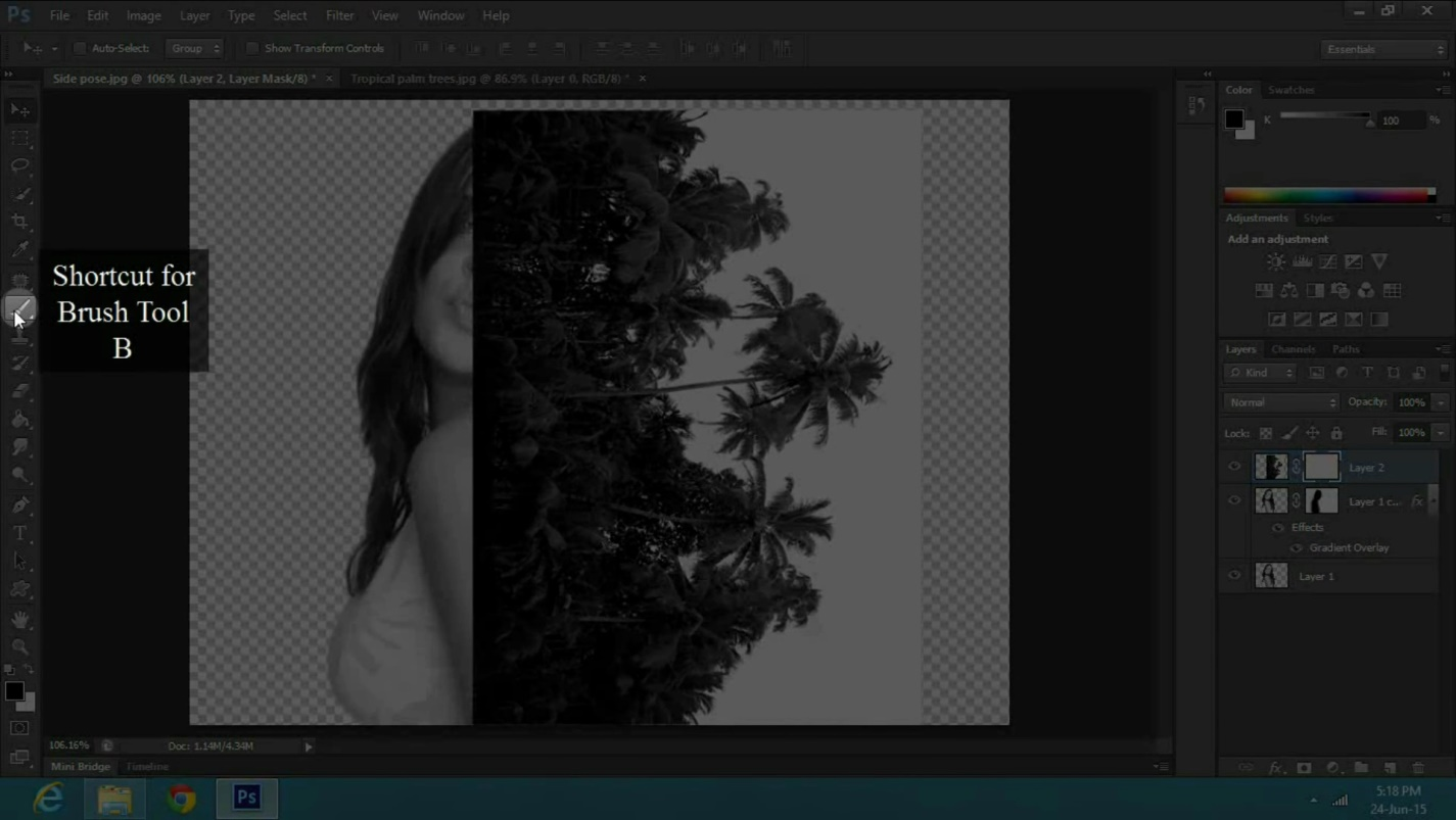 a Double Exposure Effect in Adobe Photoshop