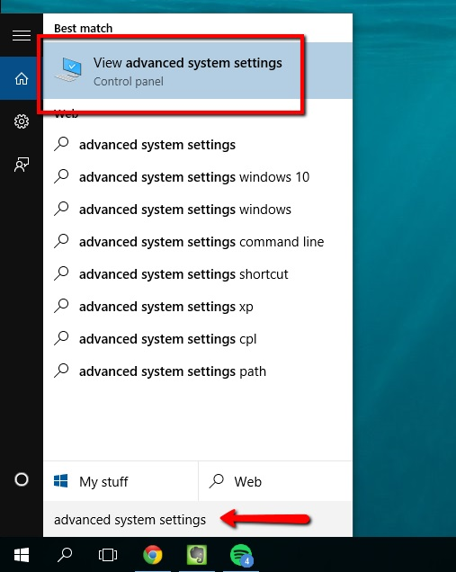 Disable Windows 10 Drop Shadows