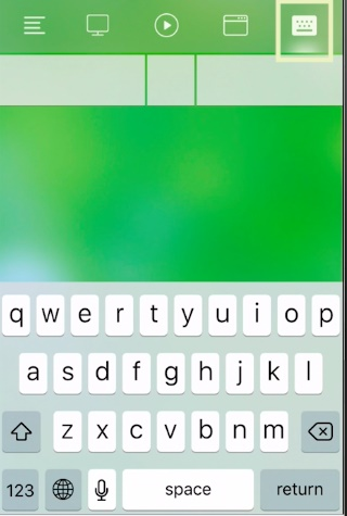 Turn Your iPhone or iPad into a Temporary Keyboard