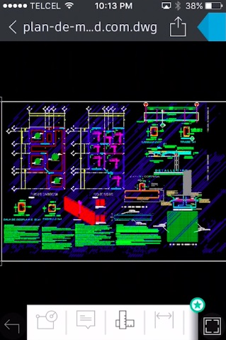 view AutoCAD files on iPhone