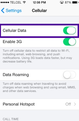 reduce cellular data usage on your iPhone