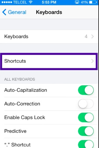 type Emoji with shortcuts on iPhone